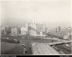 Pyrmont Power Station - a landmark on the Sydney skyline for decades. Now demolished to make way for a casino.