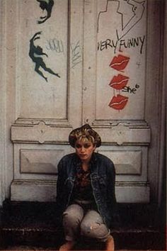 .Classic photo shoot from London by David Cunningham. Digitalized versions  of some of these pictures appeared on the cover of the Burning Up maxi single.