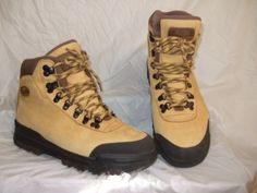 EUC-VASQUE-CLARION-IMPACT-HIKING-BOOTS-SHOES-TRAIL-LEATHER-TAN-WOMENS-SIZE-7-5