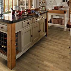 Oak Engineered wood flooring Engineered Wood Floors, Wood Flooring, Kitchen, Home Decor, Cooking, Decoration Home, Staining Wood Floors, Room Decor, Kitchens