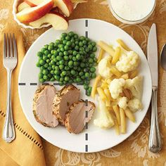 Wholesome Pork Tenderloin and many more MEAL IDEAS that help put it all together. Healthy Recipes For Diabetics, Diabetic Recipes, Diet Recipes, Low Carb Dinner Recipes, Clean Recipes, Simple Clean Meals, Easy Meals, Diabetic Living, Healthy Eating