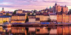 Planning a trip to this pretty city but wondering where to stay in Stockholm? Here are my tips for the best places to stay in Stockholm - for all budgets. European Breaks, Sweden Stockholm, Stockholm Travel, Austrian Airlines, Sweden Cities, Paris Skyline, New York Skyline, Low Cost Flights, Us Destinations