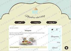 """""""Diseño de blog"""" en venta - Ref. """"Cocina2"""""""
