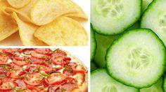 Os 10 alimentos mais e menos viciantes