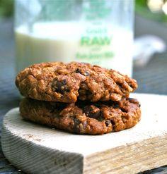 Chocolate Chip Oatmeal Cookies (no eggs, no wheat)