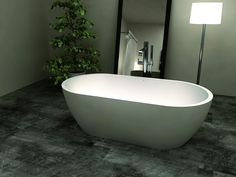 iBellavita Stone Bath Comes in Matt White composition, with an overflow and chrome popup waste. View our more amazing Stone baths collection. Stone Bathtub, Bathtub Tray, Round Bath, Extra Rooms, Bubble Bath, White Stone, Bath Bombs, Polished Chrome, Design