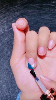Beauty Hacks Nails, Nail Art Hacks, Nail Art Diy, Diy Nails, Nail Art Designs Images, Nail Designs, Tape Nail Art, Nail Art For Beginners, Nagellack Design