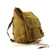Boy Scouts of America Canvas Backpack / Vintage 1970s Yucca Pack $45.00