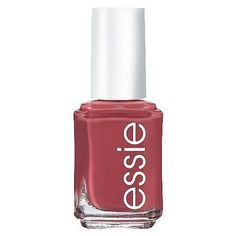 Essie Nail Polish in In Stitches The fall alternative to millennial pink is this warm rosy polish. Neutral Nail Polish, Essie Nail Colors, Best Nail Polish, Essie Nail Polish, Fall Nail Colors, Nail Polish Colors, Pink Polish, Nail Polishes, Manicures