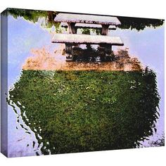 Dean Uhlinger No Picnic Gallery-Wrapped Canvas, Size: 24 x 32, Green