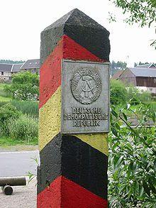 Moedlareuth DDR-Grenzpfosten - Innerdeutsche Grenze – Wikipedia