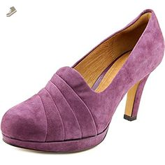 a283773ee67 Clarks Women s Delsie Joy Dress Pump Suede Purple (11) - Clarks pumps for  women