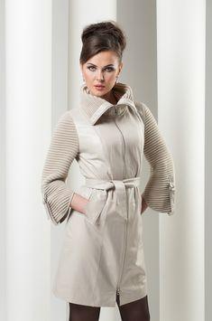 Копилка идей :мех,замша,кожа+вязаные вставки=верхняя одежда. Обсуждение на…