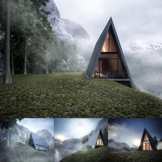 These modern cabins will satisfy cravings for a simpler life in beautiful surroundings.