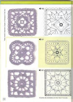 Gallery.ru / Фото #68 - Pontos de croche 205 идей - accessories