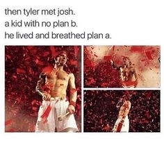 They both had no other plans besides music. I'm so glad it worked out for them. I hope it works out like that everyone Tyler Joseph, Tyler And Josh, Josh Dun, Emo Bands, Music Bands, Joshua William Dun, Screamo, My Escape, Staying Alive