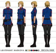 Lieutenant Nataliya Final Turnaround by =Jay-Jacks on deviantART