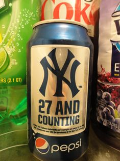 does your team have their own Pepsi can proclaiming their World Series victories? I don't think so.