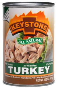 Keystone All Natural Turkey - Canned