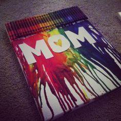 Mom Crayon Melt | 20+ Easy to Make Christmas Gifts for Mom | DIY Christmas Gifts for Grandma