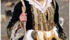 Traditional Costume from Lunxheria, Albania