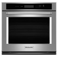 [KitchenAid Stainless Steel Wall Oven (4.3 Cu. Ft.) - KOST107ESS]