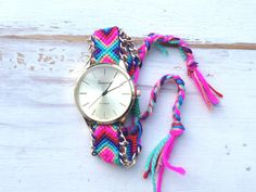 Friendship Bracelet Watch                           | Hello Miss Apple
