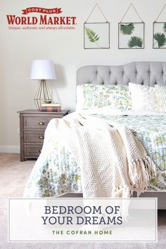 Master Bedroom Makeover - The Cofran Home Home Bedroom, Bedroom Decor, Bedroom Ideas, Master Bedroom Makeover, Bedroom Makeovers, Bedroom Styles, My Room, Home Improvement, Sweet Home