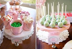Princess And The Pea Guest Dessert Feature | Amy Atlas Events