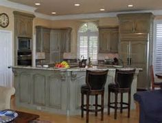 Kitchen Cabinets Before & After traditional-kitchen