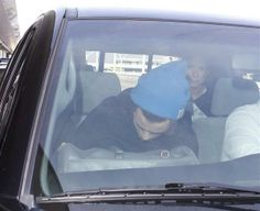 Harry in LA with Anne, Robin and Cal
