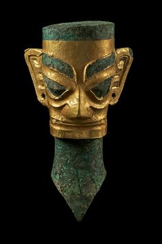 Sanxingdui culture bronze artifact, State of Shu (蜀), an ancient state in what is now Sichuan, China. Shu was based on the Chengdu Plain, in the western Sichuan basin. This independent Shu state was conquered by the state of Qin in 316 BC, but recent archaeological discoveries at Sanxingdui and Jinsha thought to be sites of Shu culture indicate the presence of a unique civilization in this region before the Qin conquest. Sanxingdui Museum