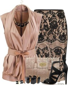 80 Elegant Work Outfit Ideas in 2017 - Are you looking for catchy and elegant work outfits? We all know that there are several factors which control us when we decide to choose something to... - work-outfit-ideas-2017-74 .