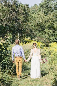 Wunderschöne Boho Hochzeit für geringes Budget | Hochzeitsblog The Little Wedding Corner