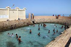 Keerimalai sacred pool in Jaffna #srilanka