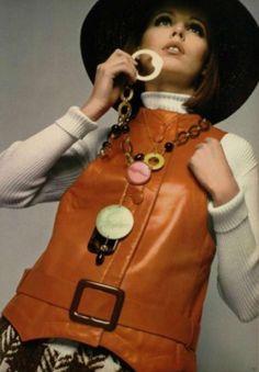 Lanvin 1968 vintage 60's fashion at its best
