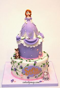 Sofia The First Cake Design Goldilocks : Sofia the First - by JoTakestheCake @ CakesDecor.com ...