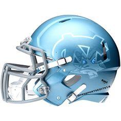 Photo from prosportsedits14 Football Helmet Design, College Football Helmets, Sports Helmet, Football Uniforms, Nfl Football, Football Things, Football Stuff, Carolina Football, Carolina Panthers