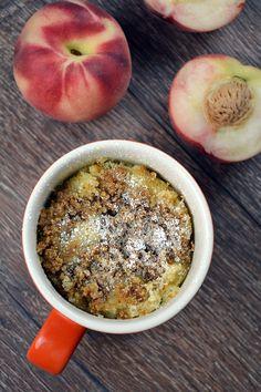 Pfirsich Streusel Tassenkuchen 2-2