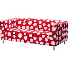 IKEA Klippan ($99) ❤ liked on Polyvore