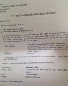 8 Contoh Surat Pernyataan Cerai Terlengkap Contohsuratmu Com Ayu