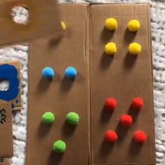 Creative Activities For Kids, Preschool Learning Activities, Baby Learning, Infant Activities, Preschool Crafts, Crafts For Kids, Colour Activities For Toddlers, Indoor Games For Kids, Kids And Parenting