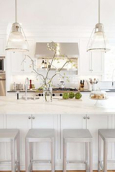 the perfect white kitchen