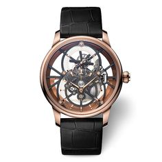Jaquet Droz - Grande Seconde Skelet-One Tourbillon | Time and Watches | The watch blog Favre Leuba, Apple Watch 1, Watch The Originals, Watch Blog, Hand Watch, Elegant Watches, High Jewelry, Sport Watches