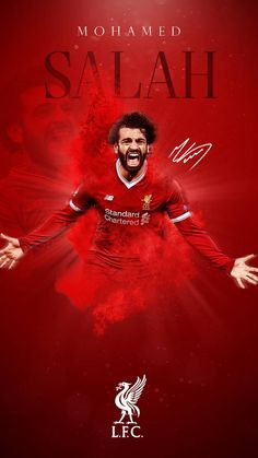 Mohamed Salah Phone Wallpaper by GraphicSamHD on DeviantArt <br> Anfield Liverpool, Liverpool Champions, Liverpool Players, Liverpool Football Club, M Salah, Muhammed Salah, Liverpool Fc Wallpaper, Liverpool Wallpapers, Premier League