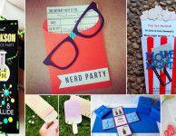 Convite de aniversário infantil – As 26 melhores inspirações