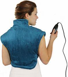 Placez cette couverture sur vos épaules et laissez son système chauffant décontracter vos muscles endoloris par des contractures et courbatures.