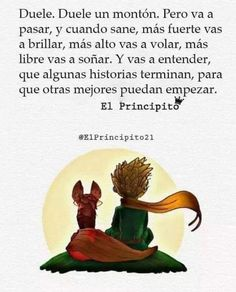 Image may contain: text Words Quotes, Me Quotes, The Little Prince, Sad Love, More Than Words, Spanish Quotes, Life Motivation, Positive Vibes, Quotations