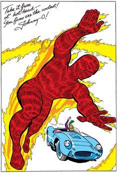 Fantastic Four Annual 002 (digital) The Johnny Storm Mister Fantastic, Fantastic Four, Marvel Comic Universe, Comics Universe, Marvel Comics Superheroes, Marvel Heroes, Comic Book Artists, Comic Books, Art Spiegelman