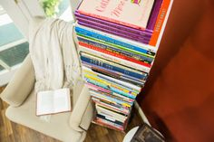 Keep your books organized with this DIY Stacking Bookcase! Watch Home & Family weekdays at 10a/9c on Hallmark Channel for more great DIYs.